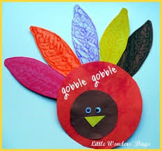 how to make turkey feathers feather turkey family crafts