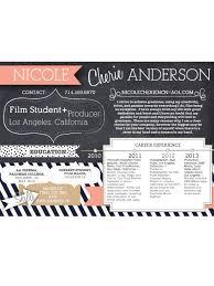 creative cv design pinterest pins creative resume film production film student creative mind