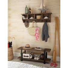 alaterre furniture modesto rustic natural bench amsa032420 the