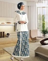 baju kurung modern untuk remaja model baju kurung modern terbaru dengan kombinasi motif batik info