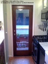 All Glass Exterior Doors Mahogany 1 Lite Dual Glass Exterior Door Eto Doors