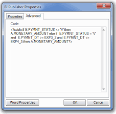 if then else statements in bi publisher a programmers random notes