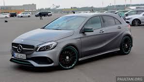 Modified A Class Mercedes Driven W176 Mercedes Benz A Class Facelift U2013 A220d A250 Sport