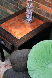 Furniture Design Ideas Featuring Water Based Wood Stains General by Copper Inlay Wood Table Best Images On Pinterest And Decor Water
