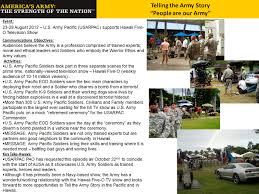 us army pacific pacific army report