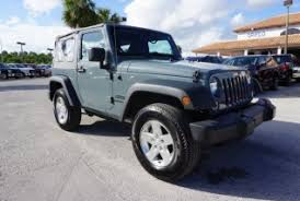 Cars For Sale In Port St Lucie Used Jeep Wrangler For Sale In Port Saint Lucie Fl 18 Used