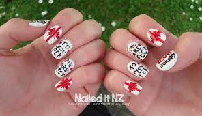 love actually nail art tutorial 12 days of christmas nail art