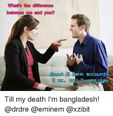 Xzibit Meme Creator - what s the difference between me and you about 5 bank accounts and 2