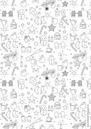 free printable christmas coloring page ausdruckbares malblatt