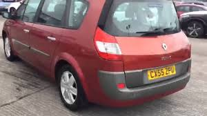 renault grand scenic 2005 renault grand scenic dynamique vvt red 2005 youtube