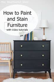 gray furniture paint how to paint and stain furniture with videos the weathered door