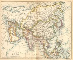 Southwest And Central Asia Map by Russia In Asia 1887 Feefhs