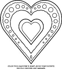 valentine u0027s heart coloring crayola