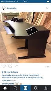 Custom Desk Plans Recording Studio Mixing Desk For Digital Audio Workstations And