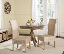 rattan dining room sets sea8013d set2 dining chairs furniture by safavieh