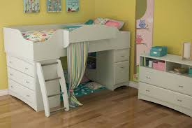 South Shore Imagine TV Stand  Storage Unit In Pure White - South shore bunk bed