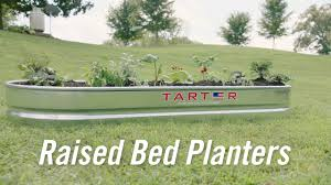 tarter u0027s raised bed planters on vimeo