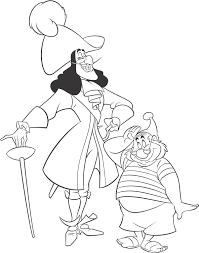 disney villains coloring captain hook disney coloring