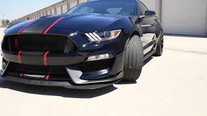 Shelby Mustang Black Black U0026 Red 2017 Shelby For Ford Mustang Gt350r Youtube