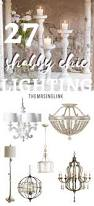 Country Chic Home Decor Shabby Chic Lighting Decor To Brighten Your Home Themrsinglink