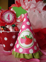 strawberry shortcake party supplies strawberry shortcake party