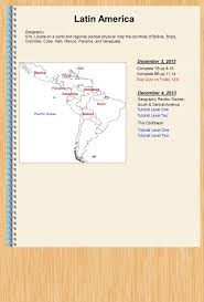 Central And South America Map Quiz by Latin America December 16 2013 Geography Ppt Download