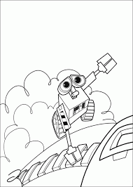 walle coloring pages wall e in space coloring page