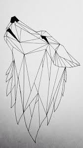 best 25 geometric wolf ideas on pinterest geometric wolf tattoo