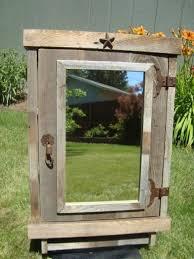 Bathroom Medicine Cabinet Mirror by Best 25 Rustic Medicine Cabinets Ideas Only On Pinterest Diy