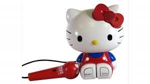 kitty sing long karaoke red 21009 kitty