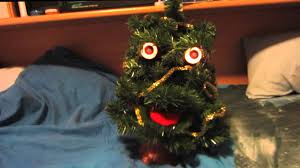 singing and talking christmas tree youtube
