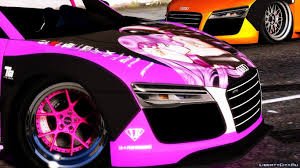 pink audi r8 2013 audi r8 v10 plus 5 2 fsi coupe liberty walk lb performance