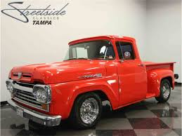 Classic Chevrolet Trucks By Year - 1960 ford f100 for sale on classiccars com 7 available