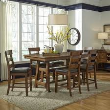 Counter Height Extendable Dining Table Counter Height Dining Tables Birch Lane