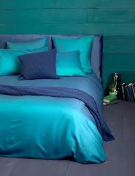 Emperor Duvets Twill Teal Cotton Bedding Set Ideal Home Inside And Out