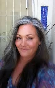 beautiful gray hair streaks 1000 images about sliver hair on pinterest gray hair platinum