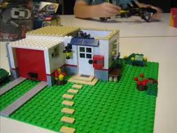 Lego House Floor Plan Building A Lego House In Stop Motion Youtube