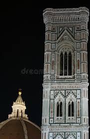 cupola di giotto cupola di brunelleschi e canile di giotto immagine stock