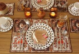 setting table for thanksgiving pretty table settings for a festive meal u0026 happy thanksgiving