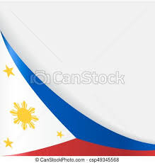 philippines flag background vector illustration clip vector
