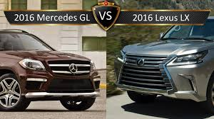 lexus lx 570 competitors 2016 lexus lx vs mercedes gl by the numbers youtube