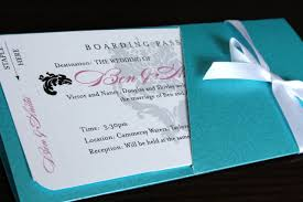 How To Design Wedding Invitation Cards Boarding Pass Wedding Invitations Stationery