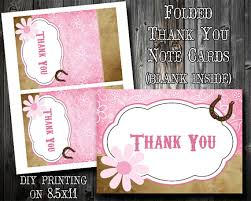 instant pink bandana thank you card diy printing