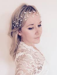 wedding headpiece bridal hair vine wedding accesories headpiece winter