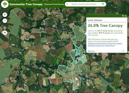 Delaware Forest images Delaware state develops community tree canopy online tool png