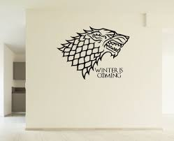 amazon com game of thrones house stark winter is coming inspired