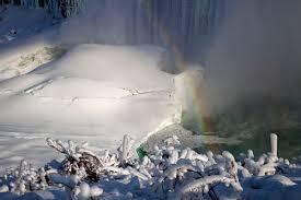 frozen niagara falls niagara falls travel story pictures