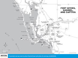 Map Of Southwest Fl Manatee Watching In Fort Myers Moon Travel Guides