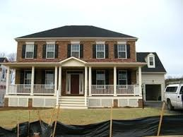 front porches on colonial homes colonial front porch stunning front porch designs for colonial