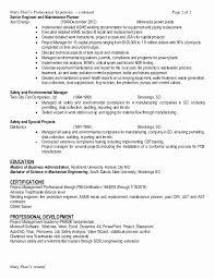 pmp certification resume sample ehs resume sample beautiful job resume financial analyst resume